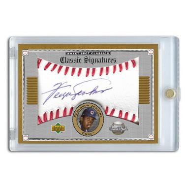Fergie Jenkins Autographed Card 2002 Upper Deck Sweet Spot # S-FJ