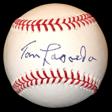 Tommy Lasorda Autographed Rawlings OML Baseball (Steiner)