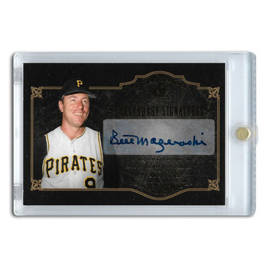 Bill Mazeroski Autographed Card 2007 SP Legends Legendary Signature Ltd Ed of 199