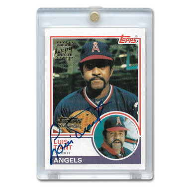 Luis Tiant Autographed Card 2001 Topps Team Legends