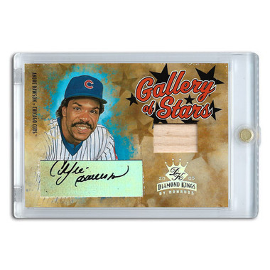 Andre Dawson Autographed Card 2005 Donruss Diamond Kings Gallery of Stars Ltd Ed of 25