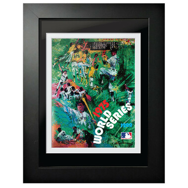 1975 World Series Program Cover 18 x 14 Framed Print