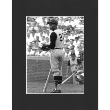 Matted 8x10 Photo- Roberto Clemente Standing