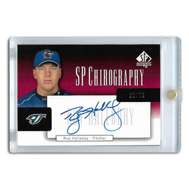 Roy Halladay Autographed Card 2004 SP Authentic Chirography Ltd Ed of 75