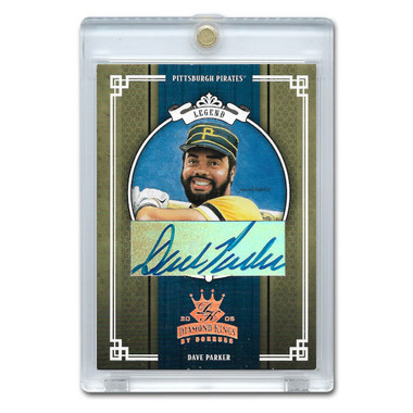 Dave Parker Autographed Card 2005 Donruss Diamond Kings Crowning Moment Ltd Ed of 100