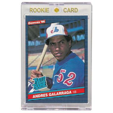 Andres Galarraga Montreal Expos 1986 Donruss # 33 Rookie Card