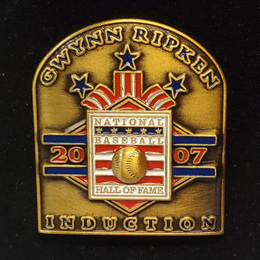 2007 Hall of Fame Induction Limited Edition Press Pin