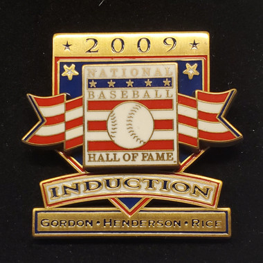 2009 Hall of Fame Induction Limited Edition Press Pin