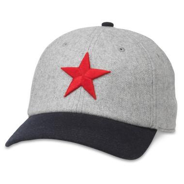 Men's American Needle Detroit Stars Negro League Archive Legends Adjustable Cap