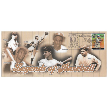 Jimmie Foxx Legends of Baseball Stamp First Day Cover July 6, 2000
