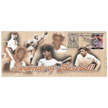 Lou Gehrig Legends of Baseball Stamp First Day Cover July 6, 2000