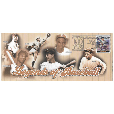 Tris Speaker Legends of Baseball Stamp First Day Cover July 6, 2000