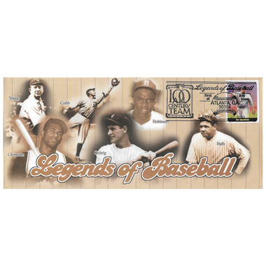 Pie Traynor Legends of Baseball Stamp First Day Cover July 6, 2000