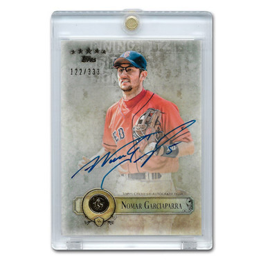 Nomar Garciaparra Autographed Card 2013 Topps 5 Star Ltd Ed of 333