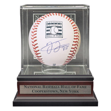 Frank Thomas Autographed Hall of Fame Logo Baseball with HOF Case (Beckett)