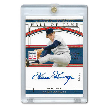 Goose Gossage Autographed Card 2020 Panini National Treasures HOF Signatures Ltd Ed of 25