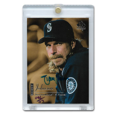 Randy Johnson Autographed Card 2000 Upper Deck SP Buy Back Ltd Ed of 113