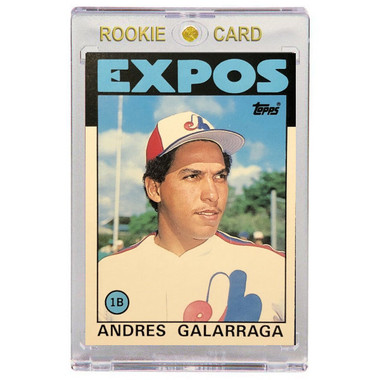 Andres Galarraga Montreal Expos 1986 Topps Traded # 40T Rookie Card