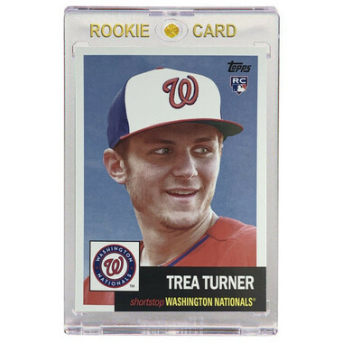 Trea Turner Washington Nationals 2016 Topps Archives # 68 Rookie Card