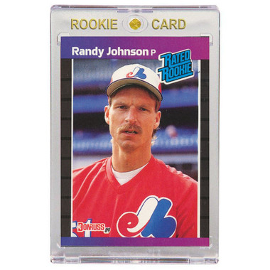 Randy Johnson Montreal Expos 1989 Donruss # 42 Rookie Card