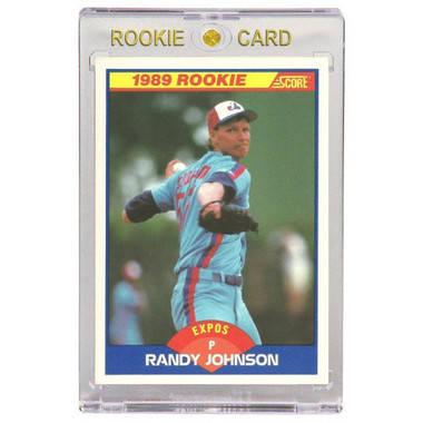 Randy Johnson Montreal Expos 1989 Score # 645 Rookie Card