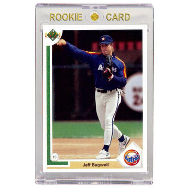 Jeff Bagwell Houston Astros 1991 Upper Deck # 755 Rookie Card