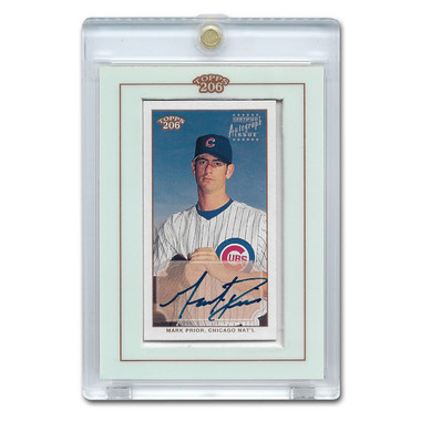 Mark Prior Autographed Card 20202 Topps T-206  # TA-MP