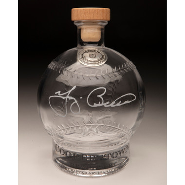 Yogi Berra Cooperstown Distillery Hall of Fame Signature Series Baseball Decanter