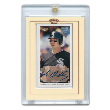 Magglio Ordonez Autographed Card 20202 Topps T-206  # TA-MO