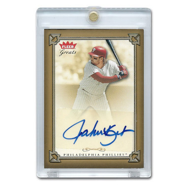 John Kruk Autographed Card 2004 Fleer Greats of the Game