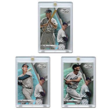 Ted Williams 2018 Topps Gold Label Set of 3 Cards