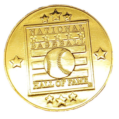 Baseball Hall of Fame Gold Coin Magnet