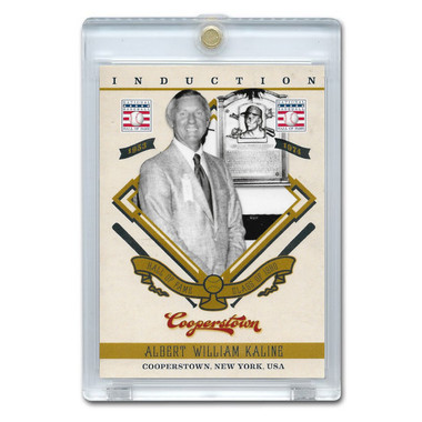 Al Kaline 2012 Panini Cooperstown Induction Card # 2