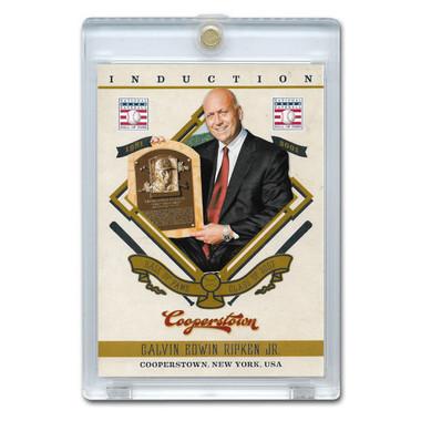 Cal Ripken Jr. 2012 Panini Cooperstown Induction Card # 9