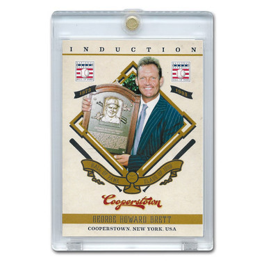 George Brett 2012 Panini Cooperstown Induction Card # 1