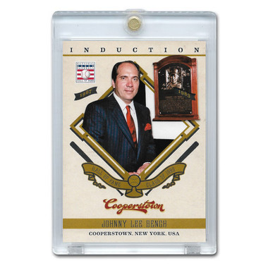 Johnny Bench 2012 Panini Cooperstown Induction Card # 7