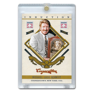 Mike Schmidt 2012 Panini Cooperstown Induction Card # 5