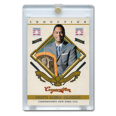 Roberto Alomar 2012 Panini Cooperstown Induction Card # 17