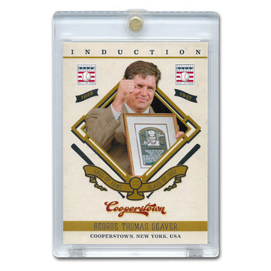 Tom Seaver 2012 Panini Cooperstown Induction Card # 13