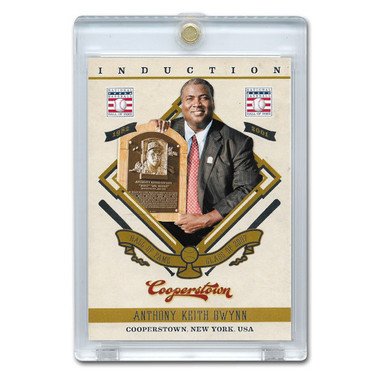 Tony Gwynn 2012 Panini Cooperstown Induction Card # 15