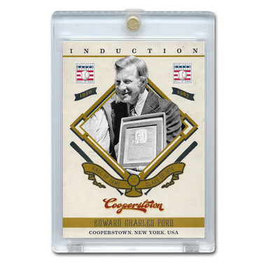 Whitey Ford 2012 Panini Cooperstown Induction Card # 8