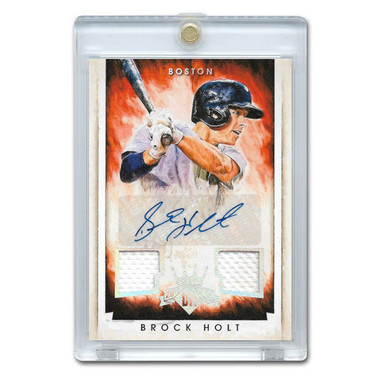 Brock Holt Autographed Card 2015 Panini Diamond Kings Signatures Ltd Edition of 299