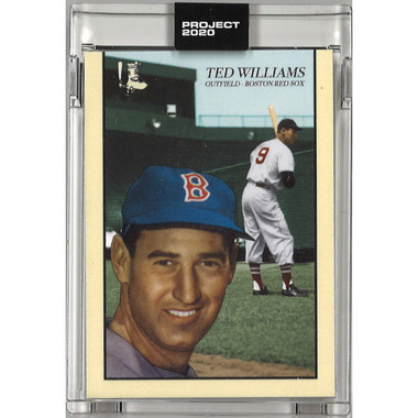Ted Williams Topps Project 2020 # 90 - Oldmanalan