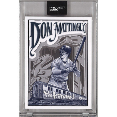 Don Mattingly Topps Project 2020 # 95 - Mister Cartoon