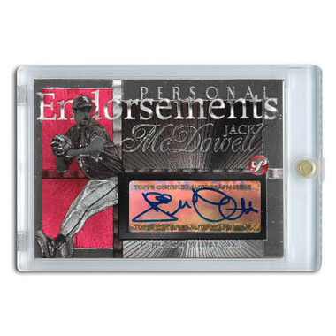 Jack McDowell Autographed Card 2005 Topps Pristine Personal Endorsements # JM
