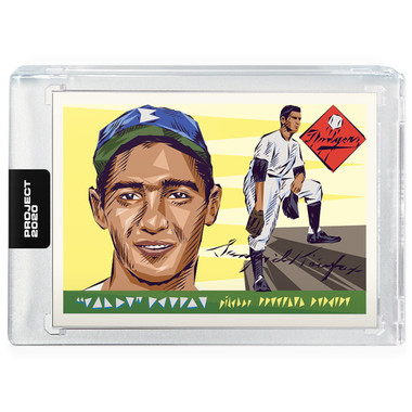 Sandy Koufax Topps Project 2020 # 89 - Naturel