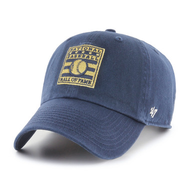 Women's '47 Brand Baseball Hall of Fame Gold Logo Adjustable Cap
