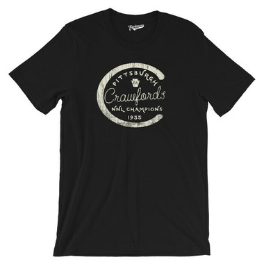 Unisex Teambrown Pittsburgh Crawfords Champions Collection T-Shirt