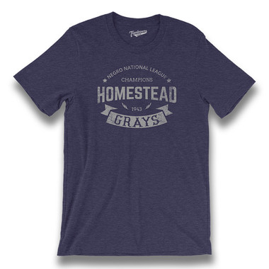 Unisex Teambrown Homestead Grays Champions Collection T-Shirt