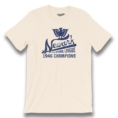 Unisex Teambrown Newark Eagles Champions Collection T-Shirt